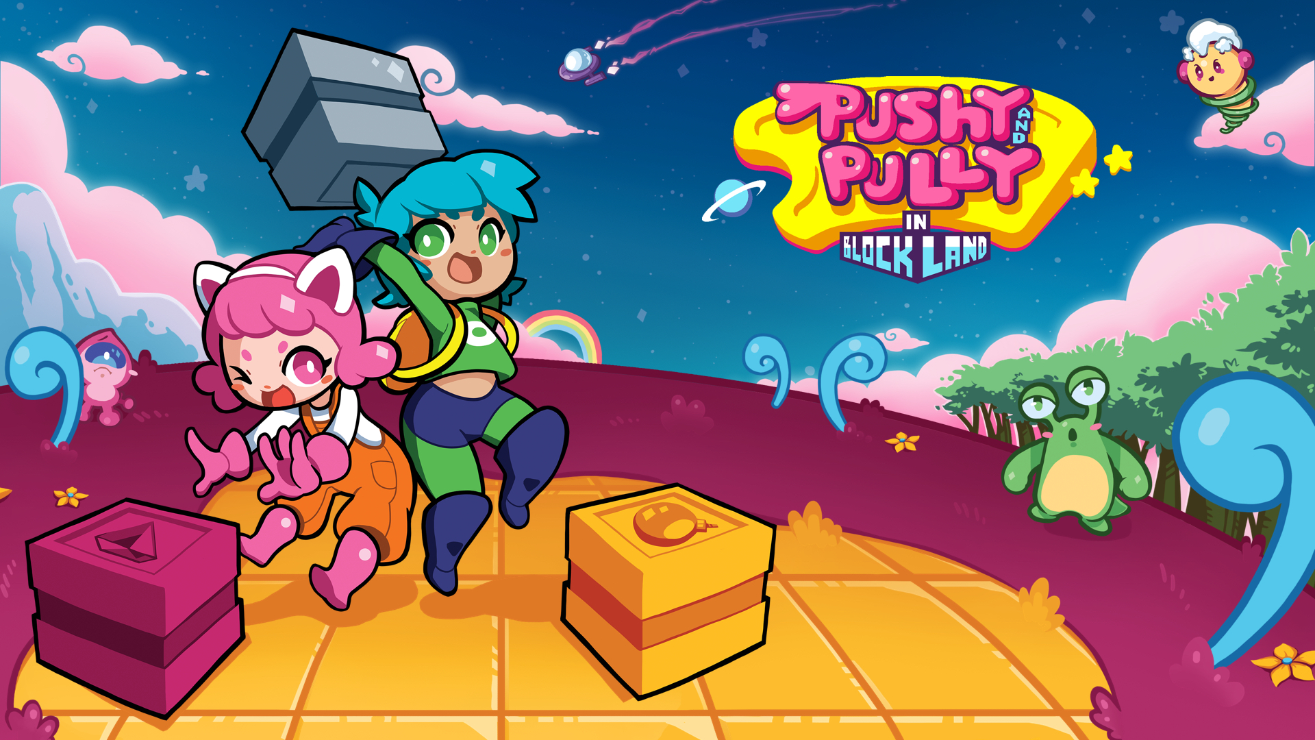Pushy and Pully in Blockland: La recensione