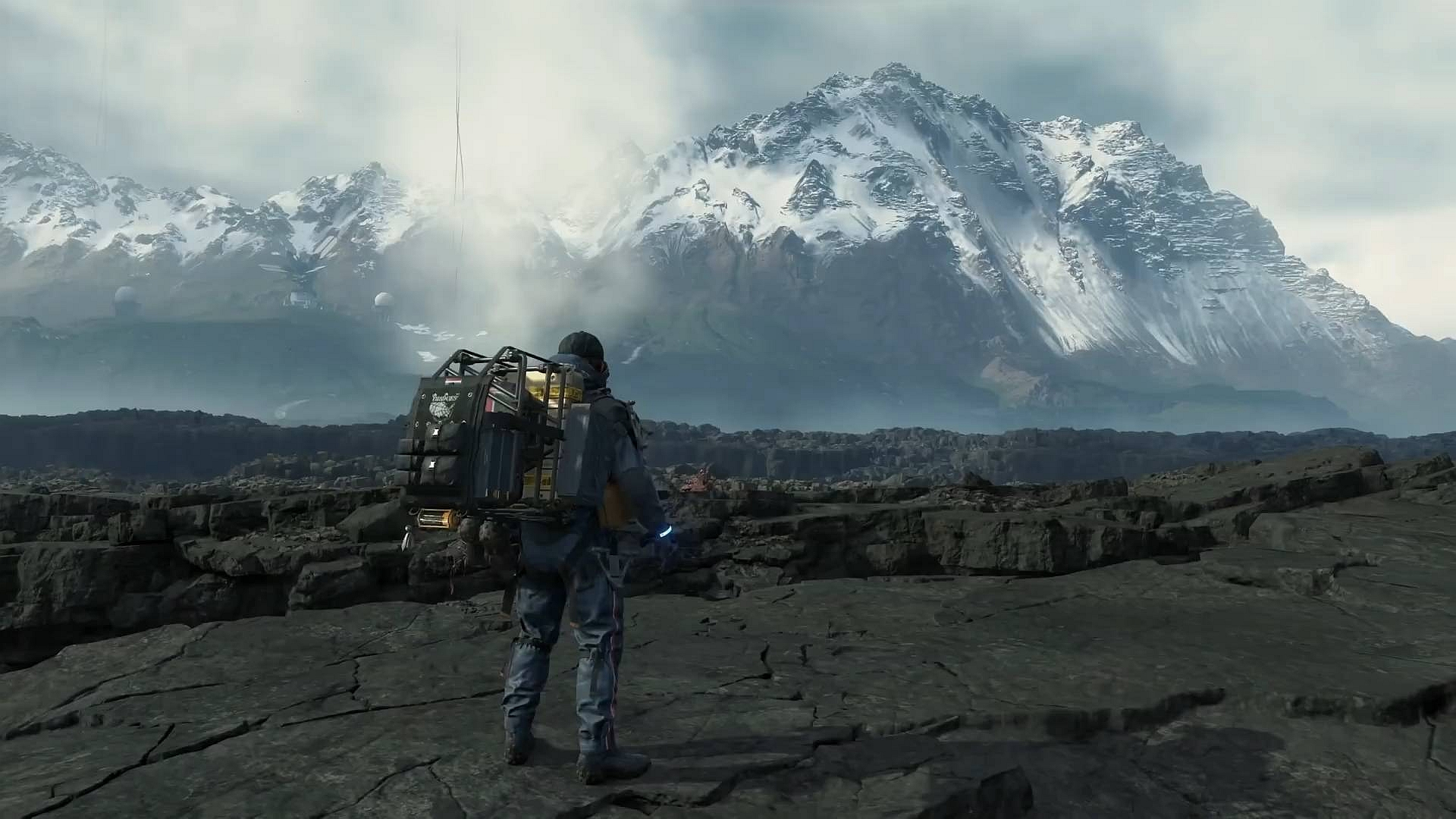 death stranding mountains