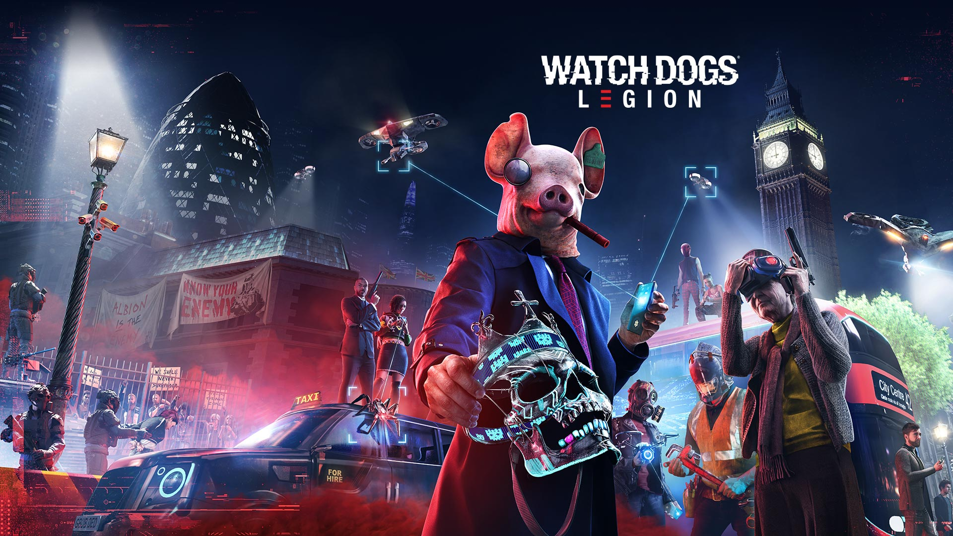 Watch Dogs: Legion Key Art