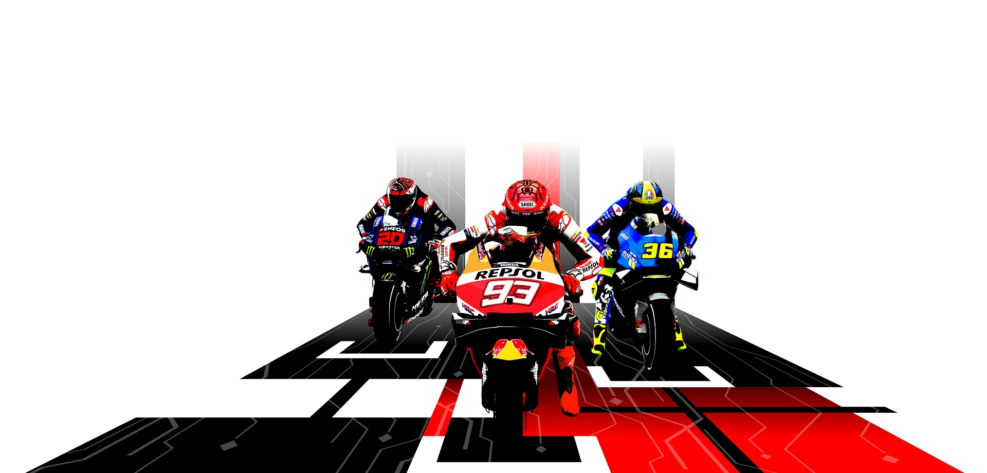 MotoGP 21 Key Art